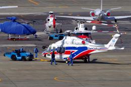 yabyanさんが、名古屋飛行場で撮影した三井物産エアロスペース AW139の航空フォト(飛行機 写真・画像)