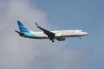 OMAさんが、シンガポール・チャンギ国際空港で撮影したガルーダ・インドネシア航空 737-8U3の航空フォト(飛行機 写真・画像)