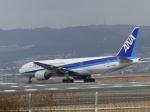 うすさんが、伊丹空港で撮影した全日空 777-281/ERの航空フォト(飛行機 写真・画像)