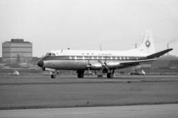 apphgさんが、羽田空港で撮影した全日空 828 Viscountの航空フォト(飛行機 写真・画像)