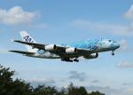 銀苺さんが、成田国際空港で撮影した全日空 A380-841の航空フォト(飛行機 写真・画像)