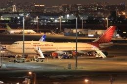 やつはしさんが、羽田空港で撮影したエア・インディア 747-437の航空フォト(飛行機 写真・画像)