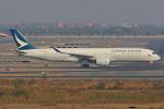 tsubameさんが、スワンナプーム国際空港で撮影したキャセイパシフィック航空 A350-941XWBの航空フォト(飛行機 写真・画像)