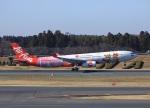 garrettさんが、成田国際空港で撮影したタイ・エアアジア・エックス A330-343Xの航空フォト(飛行機 写真・画像)