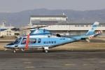 Hii82さんが、八尾空港で撮影した岡山県警察 A109E Powerの航空フォト(飛行機 写真・画像)