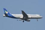 kuro2059さんが、ノイバイ国際空港で撮影したラオス国営航空 A320-214の航空フォト(飛行機 写真・画像)