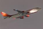 多摩川崎2Kさんが、羽田空港で撮影したエア・インディア 747-437の航空フォト(飛行機 写真・画像)