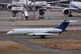 jk3yhgさんが、羽田空港で撮影したOジェッツ BD-700-1A10 Global 6000の航空フォト(飛行機 写真・画像)
