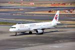 まいけるさんが、羽田空港で撮影した中国東方航空 A321-231の航空フォト(飛行機 写真・画像)