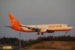 JA8037さんが、成田国際空港で撮影したチェジュ航空 737-8Q8の航空フォト(飛行機 写真・画像)