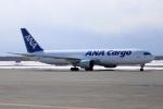北の熊さんが、新千歳空港で撮影した全日空 767-381F/ERの航空フォト(飛行機 写真・画像)