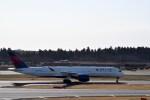 よんすけさんが、成田国際空港で撮影したデルタ航空 A350-941XWBの航空フォト(飛行機 写真・画像)