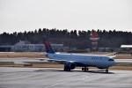 よんすけさんが、成田国際空港で撮影したデルタ航空 A330-941の航空フォト(飛行機 写真・画像)
