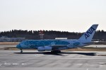 よんすけさんが、成田国際空港で撮影した全日空 A380-841の航空フォト(飛行機 写真・画像)