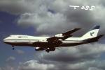 tassさんが、成田国際空港で撮影したイラン航空 747-186Bの航空フォト(飛行機 写真・画像)