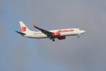 OMAさんが、シンガポール・チャンギ国際空港で撮影したマリンド・エア 737-8GPの航空フォト(飛行機 写真・画像)