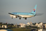kumagorouさんが、那覇空港で撮影した大韓航空 737-9B5の航空フォト(飛行機 写真・画像)