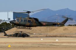 sepia2016さんが、霞ヶ浦飛行場で撮影した陸上自衛隊 UH-1Jの航空フォト(飛行機 写真・画像)