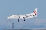 木人さんが、札幌飛行場で撮影した北海道エアシステム 340B/Plusの航空フォト(飛行機 写真・画像)