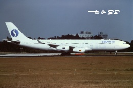 tassさんが、成田国際空港で撮影したサベナ・ベルギー航空 A340-211の航空フォト(飛行機 写真・画像)
