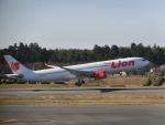 ヒロリンさんが、成田国際空港で撮影したタイ・ライオン・エア A330-941の航空フォト(飛行機 写真・画像)