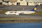 kumagorouさんが、那覇空港で撮影したスカイマーク 737-8HXの航空フォト(飛行機 写真・画像)