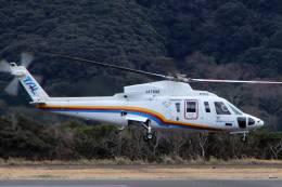 jk3yhgさんが、八丈島空港で撮影した東邦航空 S-76C++の航空フォト(飛行機 写真・画像)