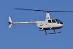 ブルーさんさんが、東京ヘリポートで撮影したオートパンサー R44 IIの航空フォト(飛行機 写真・画像)