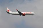 OMAさんが、シンガポール・チャンギ国際空港で撮影したタイ・ライオン・エア 737-9GP/ERの航空フォト(飛行機 写真・画像)