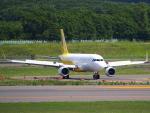 むらさめさんが、新千歳空港で撮影したバニラエア A320-214の航空フォト(飛行機 写真・画像)