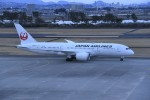 kumagorouさんが、仙台空港で撮影した日本航空 787-8 Dreamlinerの航空フォト(飛行機 写真・画像)
