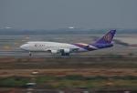 tsubameさんが、スワンナプーム国際空港で撮影したタイ国際航空 747-4D7の航空フォト(飛行機 写真・画像)