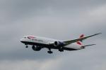 Yusuke Iwataさんが、成田国際空港で撮影したブリティッシュ・エアウェイズ 787-9の航空フォト(飛行機 写真・画像)