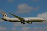 Yusuke Iwataさんが、成田国際空港で撮影したエティハド航空 787-9の航空フォト(飛行機 写真・画像)