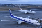 kumagorouさんが、仙台空港で撮影した全日空 767-381/ERの航空フォト(飛行機 写真・画像)