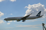 hareotokoさんが、成田国際空港で撮影したキャセイパシフィック航空 777-367の航空フォト(飛行機 写真・画像)