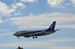 hareotokoさんが、成田国際空港で撮影したANAウイングス 737-5L9の航空フォト(飛行機 写真・画像)