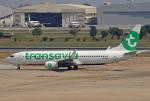 tsubameさんが、ドンムアン空港で撮影したノックエア 737-84Pの航空フォト(飛行機 写真・画像)