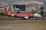 tsubameさんが、ドンムアン空港で撮影したタイ・エアアジア A320-216の航空フォト(飛行機 写真・画像)