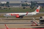 tsubameさんが、ドンムアン空港で撮影したタイ・ライオン・エア 737-8GPの航空フォト(飛行機 写真・画像)