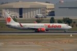 tsubameさんが、ドンムアン空港で撮影したタイ・ライオン・エア 737-9GP/ERの航空フォト(飛行機 写真・画像)