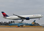 雲霧さんが、成田国際空港で撮影したデルタ航空 A330-941の航空フォト(飛行機 写真・画像)