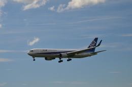 hareotokoさんが、成田国際空港で撮影した全日空 767-381/ERの航空フォト(飛行機 写真・画像)