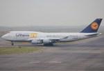 キイロイトリさんが、関西国際空港で撮影したルフトハンザドイツ航空 747-430の航空フォト(飛行機 写真・画像)
