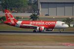 tsubameさんが、ドンムアン空港で撮影したタイ・エアアジア A320-251Nの航空フォト(飛行機 写真・画像)