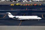 まいけるさんが、羽田空港で撮影したバミューダ個人所有 CL-600-2B19 Challenger 850の航空フォト(飛行機 写真・画像)
