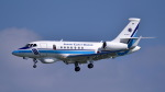 ららぞうさんが、那覇空港で撮影した海上保安庁 Falcon 2000EXの航空フォト(飛行機 写真・画像)