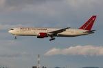 元青森人さんが、仙台空港で撮影したオムニエアインターナショナル 767-328/ERの航空フォト(飛行機 写真・画像)
