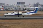 神宮寺ももさんが、伊丹空港で撮影したANAウイングス DHC-8-402Q Dash 8の航空フォト(飛行機 写真・画像)