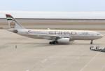 キイロイトリさんが、中部国際空港で撮影したエティハド航空 A330-243の航空フォト(飛行機 写真・画像)